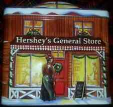 Christmas Tin Canister 2002 Hersheys Village Series - General Store Series 3
