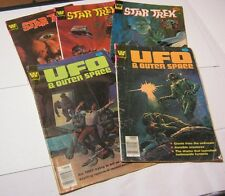 Star Trek  UFO& Outer Space Whitman Comic Book Lot of 5  T*