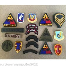 BRAND NEW US ARMY CLOTH BADGE USA AIRFORCE AMERICAN MILITARY COLLECTABLES