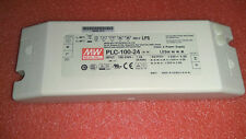 1pc New MEAN EWLL LED switching power supply PLC-100-24 (24V 4A)