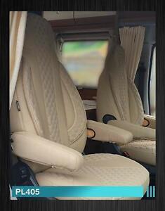 Maß Sitzbezüge für Fiat Ducato 250 Fahrer & Beifahrer ab BJ 2006 PL405 Beige