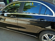 Mercedes C Class W205 Comfort 2014Up Chrome Windows Frame Trim  4PCS S.STEEL