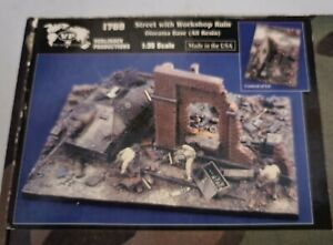 1:35 Verlinden Productions Street with Workshop Ruin Diorama Base