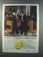 1981 Gold Maple Leaf Ad - Why My Coins are Canadian