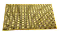 Copper Stripboard 100x160mm banks of 3 prototype vero FR2 gold-plate 013