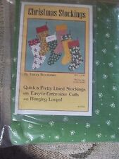 Christmas Stockings Tracey Brookshire KIT T12 sew fabric quilt (4) 16LX9W