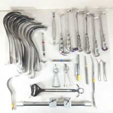 Mixed Lot Surgical Instruments Zimmer, Skylar, Synthes, V. Mueller, & More