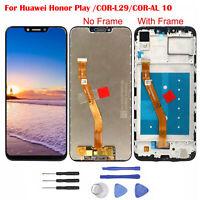 Für Huawei Honor Play/COR-L29 LCD Display Touch Screen Digitizer Rahmen Schwarz@