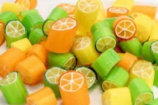 1kg Citrus Rock Hard Boiled Rock Candy Buffet Lollies Australian Made