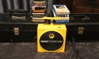 Panasonic Eight Track Player With 57 Eight Tracks And 2 8-track Storage Cases