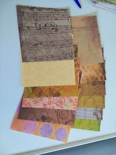 12 sheets scrapbookingpaper/15x15 cm/ 1 sided/new (Z03)