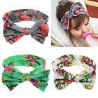 Enfants Fille Enfants Imprimer Floral bowknot Bandeau Turban Knot Bandeaux
