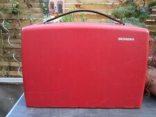 BERNINA Rekord 830 Nähmaschine mit original Beschreibung Im roten Koffer