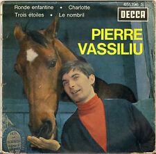 """PIERRE VASSILIU """"RONDE ENFANTINE"""" 60'S EP DECCA 451.196"""