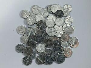 Lote 80 Monedas Franco 50 Céntimos 1966 (*73) Sin Circular F.N.M.T de paquete