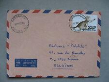 BUKINA FASO, cover to Belgium 2004, cat