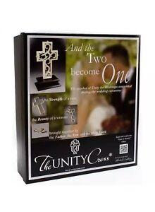 The Unity Cross Pearlescent Unity Wedding Cross Centerpiece Christian NIB.