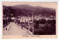 Cartolina Vill´Albese (Como) Entrata in Paese. 1915 circa