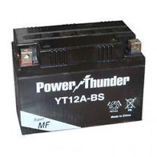 Bateria Power Thunder YT12A-BS sin mantenimiento (  SUZUKI, KYMCO, PIAGGIO )