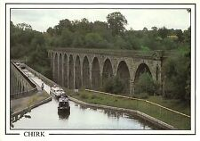 BT18019 the aquaduct and viaduct chirk  wales