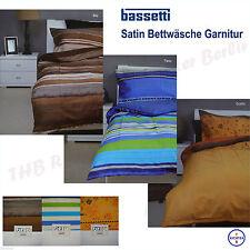 BETTWÄSCHE 3104 in BUNT RENFORCE BAUMWOLLE Garnitur Bettbezug 135x200 NEUWARE