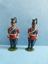 New listing Vintage x2 Lead Toy Soldiers With Moving Arms 1940/50s Britains ?