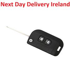 Uncut Replacement Blank Car Key Fob 2 Button Nissan Qashqai Primera Micra Navara