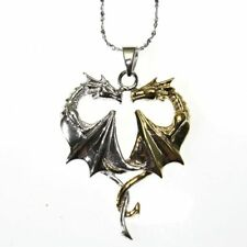 Dragon Heart Sterling Silver 925 Pendant Necklace Anne Stokes Mythical Companion
