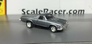 Charcoal Metallic 1969 Chevy El Camino Body(ONLY) for Aurora Tjet type chassis