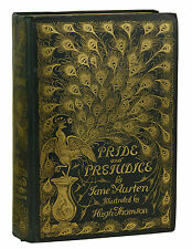 Pride and Prejudice by JANE AUSTEN 1894 Hugh Thomson Peacock Edition First Thus
