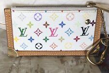 EUC!!! Louis Vuitton Monogram Multicolor Cles Coin Pouch