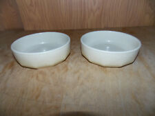 "(2) Mikasa Indian Feast ""SPECKLED BISCUIT"" DE850 Soup/Cereal Bowl JAPAN"