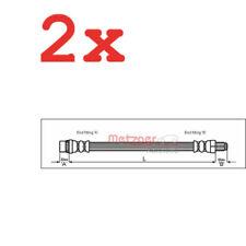 2x METZGER Original Bremsschlauch Peugeot 306, 306 Break 4114633
