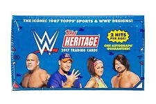 2017 Heritage WWE Wrestiling - THIRTY YEARS OF SUMMER SLAM - PICK YOUR CARD *
