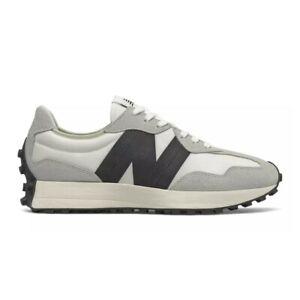 New Balance 327 Sneaker Uomo MS327FE Sea Salt Off White Black