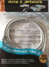 I dati Cat5e Cavo Patch di rete. 1m. Grigio. RJ45 Spina a Spina RJ45. 100 Mbit/s