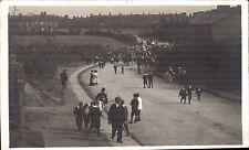 Wakefield posted Street & Parade. Written by M.J.S. to Mrs Clarkson, Ossett.