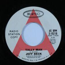 Rock 45 Jeff Beck Tally Man Epic promo Hear