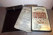 Vintage Kalkometer, instructions & case, but missing the metal stylus, untested