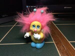 Vtg Playskool Hasbro Snugglebumms BUTTON the BEE 1985 Figure Toy Bumblebee Pink