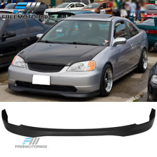 Fits 01-03 Honda Civic 2 4dr T-R Style Front Lip  PP