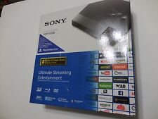 Sealed Sony BDP-S5500 BDPS5500 Blu-ray Player Streaming 3D WiFi Built-In  Black