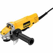 "DeWalt DWE4120 4-1/2"" Paddle Switch Small Angle Grinder"