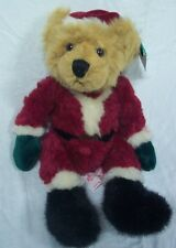 "RUSS Bears from the Past KRIS SANTA TEDDY BEAR 10"" Plush STUFFED ANIMAL Toy NEW"