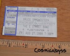 Bruce Springsteen & the E Street Band concert ticket stub Boston
