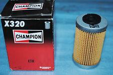 1 filtre à huile CHAMPION X320 KTM 250 400 450 520 525 625 690 SX EXC MXC XC