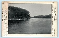 NEW JERSEY MORRIS LAKE 1906 TO MR. G.H. FISBECK HACKENSACK ROAD, RIDGEFIELD PARK