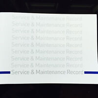 BMW 1 Series Service Book - History Maintenance Record Portfolio - New Blank
