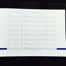 Ford MONDEO Service Book - History Maintenance Record Portfolio - New Blank