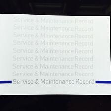 BMW 5 Series Service Book - History Maintenance Record Portfolio - New Blank